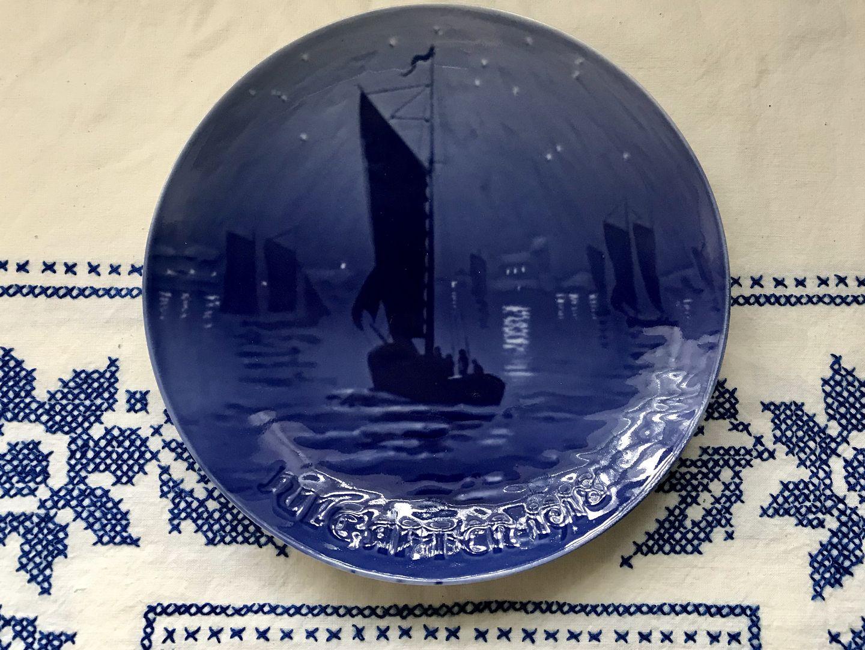 Bing /& Grondahl Christmas Plate 1918