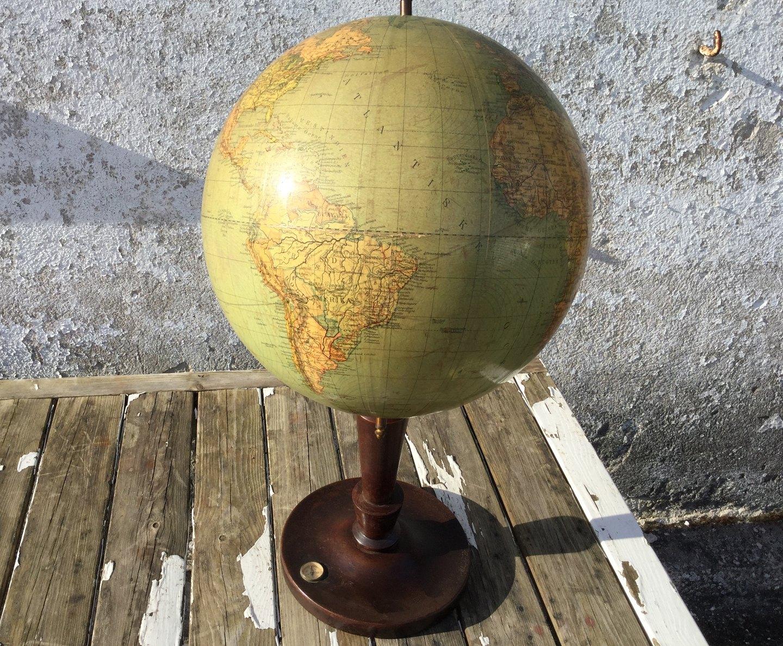 Weihnachtsdeko Globus.Moster Olga Antik Design Globus Großer Schöner Globus Vom